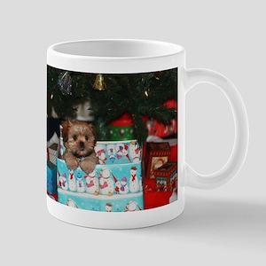 Chablis in a Chirstmas Box Mug