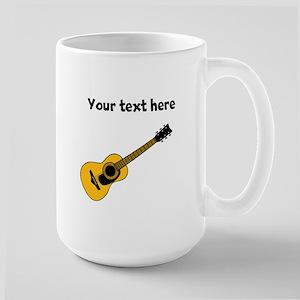 Customizable Guitar Large Mug
