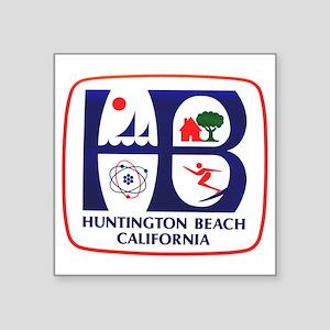 Huntington Beach California Rectangle Sticker