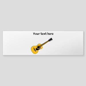 Customizable Guitar Sticker (Bumper)