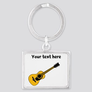 Customizable Guitar Landscape Keychain
