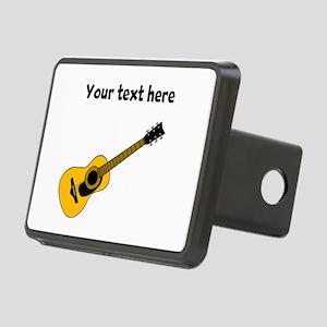Customizable Guitar Rectangular Hitch Cover
