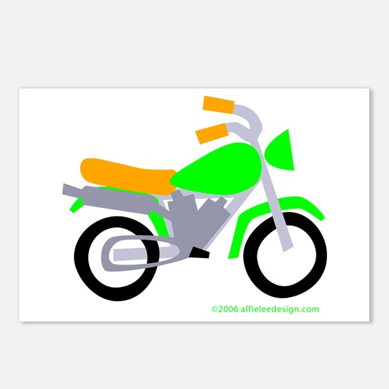 Wee Motor-Bike! Postcards (Package of 8)