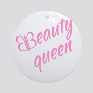 Beauty queen Ornament (Round)