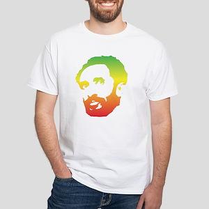 Haile Silassie White T-Shirt