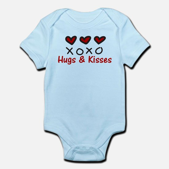 Hugs & Kisses Infant Bodysuit