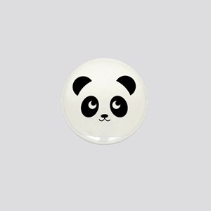 Panda Smile Mini Button