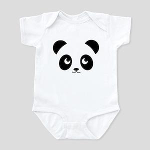 Panda Smile Baby Light Bodysuit