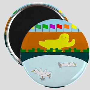 Duckefeller Center Magnet