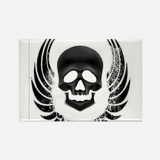 Scull Rectangle Magnet