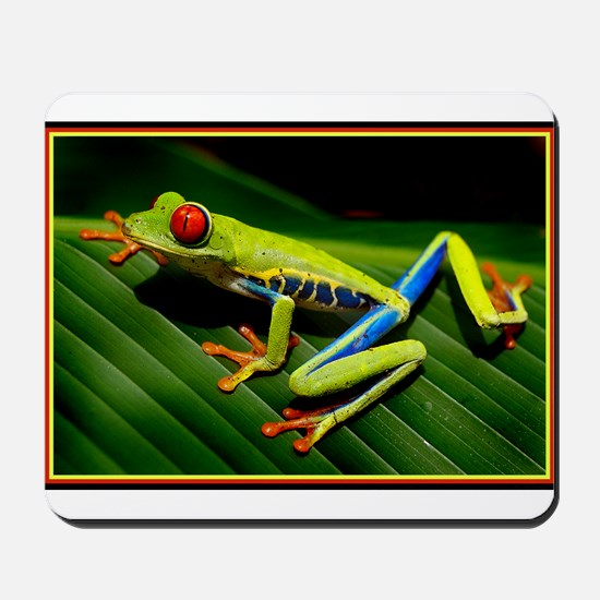 Exotic Tree Frog Mousepad