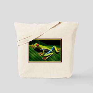 Exotic Tree Frog Tote Bag