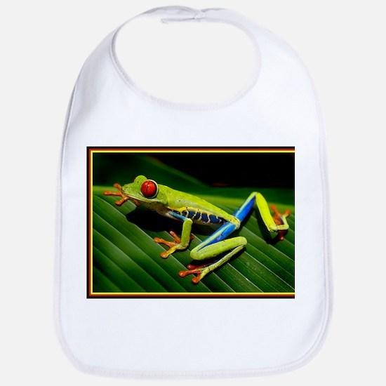 Exotic Tree Frog Bib