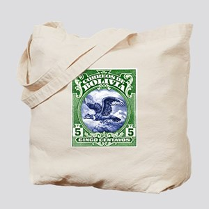 Bolivia 1928 Andean Condor Postage Stamp Tote Bag