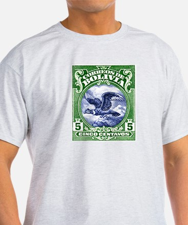 Bolivia 1928 Andean Condor Postage Stamp T-Shirt