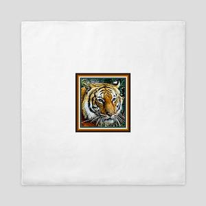 Eye of the Tiger. Queen Duvet