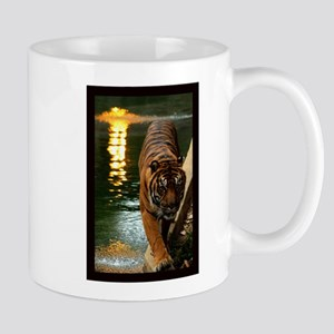 Tiger at Sunset. Mug