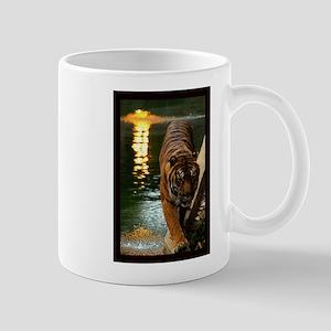 Tiger at Sunset. Mug
