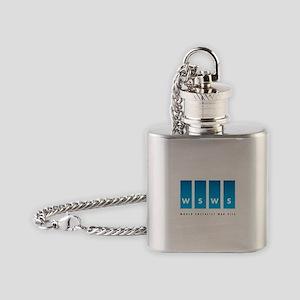 World Socialist Web Site Flask Necklace