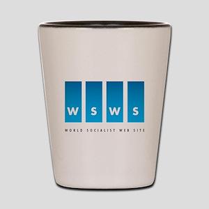 World Socialist Web Site Shot Glass