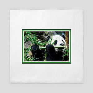 Panda Bear Queen Duvet