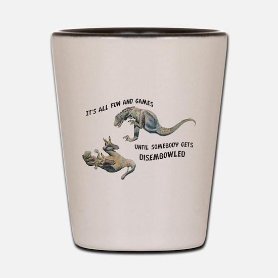 Cool Dino Shot Glass