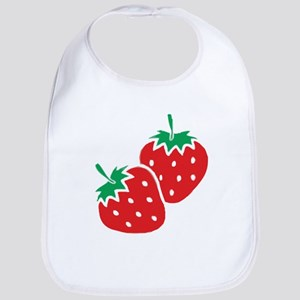 Sweet Strawberries Bib