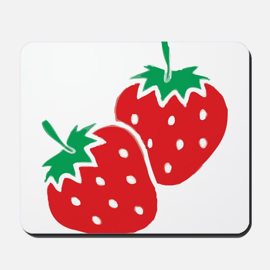 Sweet Strawberries Mousepad