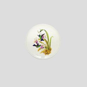 Hummingbirds Mini Button