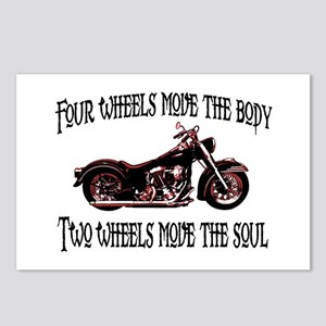 Two Wheels Move Postcards (Package of 8)