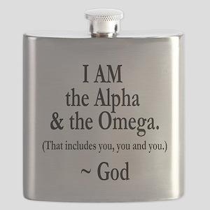 Alpha & Omega Flask