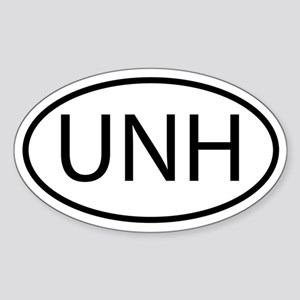 UNH Sticker (Oval)