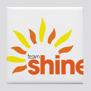 Team Shine Tile Coaster