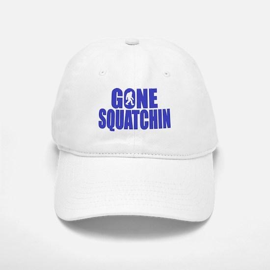 Gone Squatchin - Brute Baseball Baseball Cap