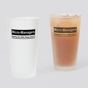 Micro-Managers: Getting the little things done! Dr