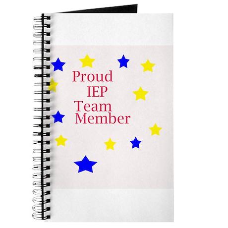 Proud IEP Team Member Journal
