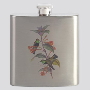 Hummingbirds Flask