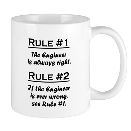Rule Engineer Mugs