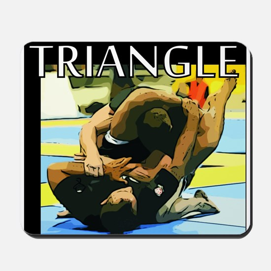BJJ Triangle Choke Mousepad