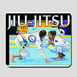Jiu-Jitsu BJJ Girls Mousepad