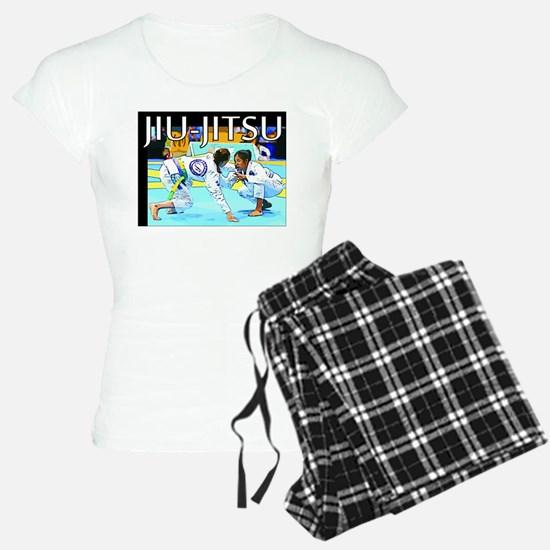 Jiu-Jitsu BJJ Girls Pajamas