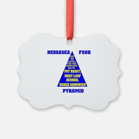 Nebraska Food Pyramid Ornament