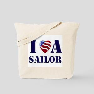 i love a sailor Tote Bag