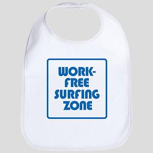 Work Free Surfing Zone Baby Bib