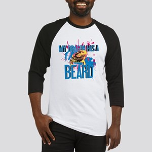 Bearded Dragon - My Dragon Has A Beard Baseball Je