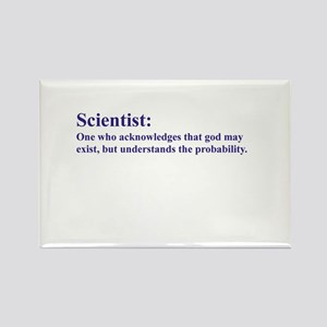 Scientist: Acknowledges that god may exist... Rect