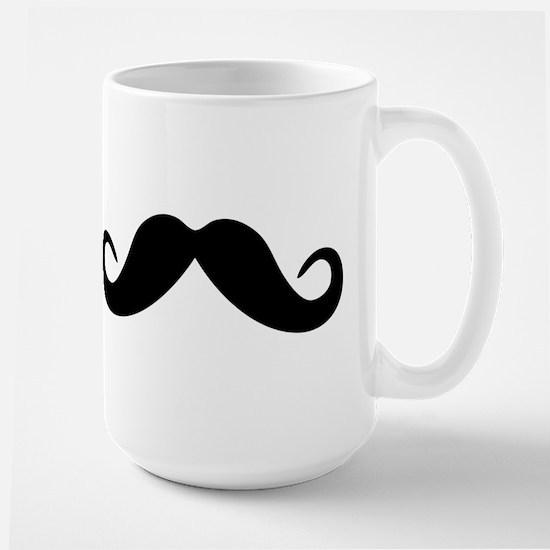 Mustache Large Mug