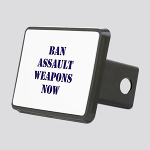 Ban Assault Weapons Now Rectangular Hitch Cover