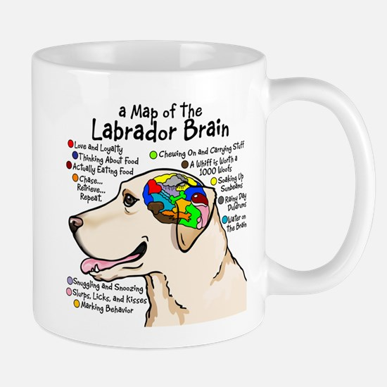 ylabbrain10x10 Mugs