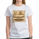 Viking Longship Diagrams Women's T-Shirt
